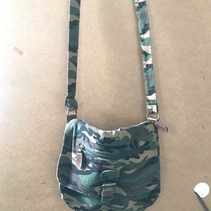 Handbags - Camouflage Side Purse